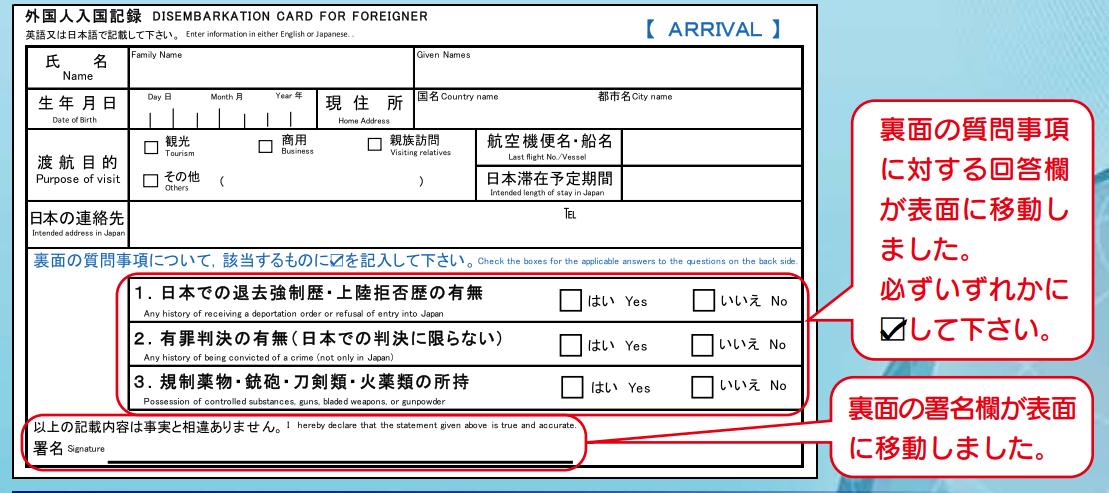 外国人入国記録